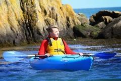 Blondie Kayaking in Dalkey (65)