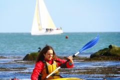 Bride and boat kayaking in Dalkey (83)