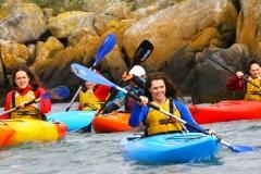 Everyone Smiling and Kayaking in Dalkey (97)