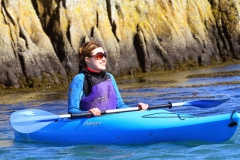Felicity Kayaking and Smiling in Dalkey (66)