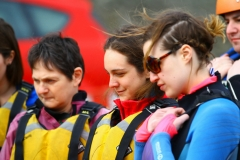 Girls watching Kayaking.ie in Dalkey (4)