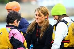 Jenny Kilbride Kayaking in Dalkey