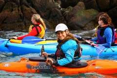 Jenny Kilbride Smiling and Kayaking.ie in Dalkey (127)