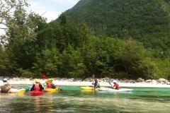 Kayaking-Solvenia