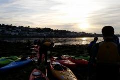 Kayaking-group-sunset2