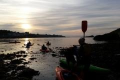 Kayaking-group-sunset3