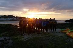 Kayaking-group-sunset4