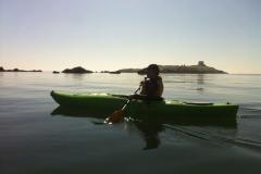 Kayaking-group-sunset5