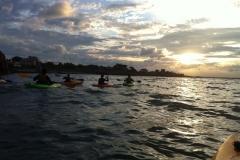 Kayaking-group-sunset8