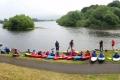 Kayaking-group-river