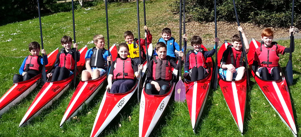kayaking.ie kids camps